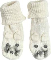 Stella Mccartney Kids , Mouse Cotton & Wool Knit Socks