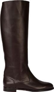 Manolo Blahnik , 20mm Luchino Brushed Calf Riding Boots