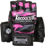 Boxeur Des Rues , Geometric Synthetic Mma Gloves