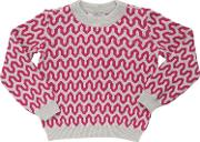 Paade , Knitted Wool Jacquard Sweater