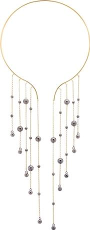 Federica Tosi , Hanging Balls Silver Necklace