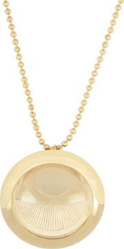 Aygeya , Ancient Moon Medallion Necklace