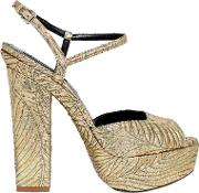 Dsquared2 , 150mm Brocade Platform Sandals