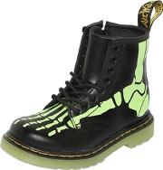 Drmartens , Glow In The Dark Printed Leather Boots
