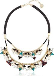 Anton Heunis , Art Deco Expression Necklace