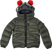 Ai Riders On The Storm , Water Resistant Ripstop Down Jacket