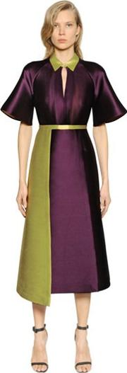 Caterina Gatta , Mikado Double Silk Blend Dress