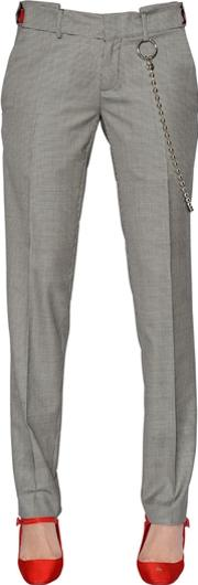Alyx , Houndstooth Cool Wool Pants