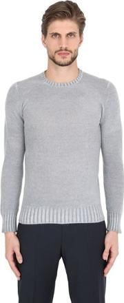 Drumohr , Faded Lambswool Crew Neck Sweater