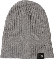Htc Hollywood Trading Company , Distressed Wool Blend Beanie Hat