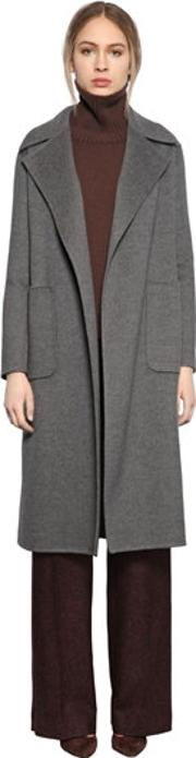 Larusmiani , Belted Double Wool Coat
