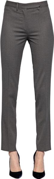 Larusmiani , Slim Fit Blend Wool Pants