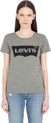Levis Red Tab , Logo Printed Jersey T Shirt