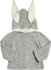Oeuf , Bunny Baby Alpaca Doubled Tricot Sweater