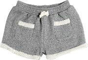 Yporque , Cotton French Terry Sweat Shorts