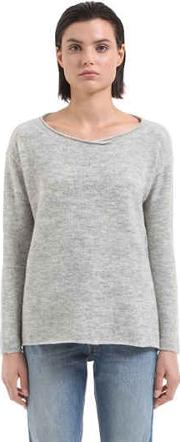 Transit Parsuch , Cropped Wool Blend Knit Sweater