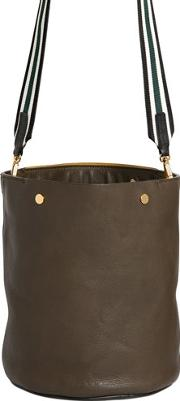 Marni , Medium Grained Leather Bucket Bag