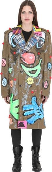 Patricia Field Art Fashion , Scooter Laforge Hand Painted Jacket