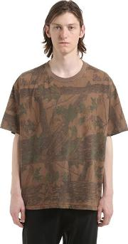 Yeezy , Forest Printed Cotton Jersey T Shirt