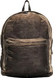 Giorgio Brato , Carved Washed Leather Backpack