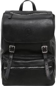 Invicta , My Jolly Total Black Leather Backpack