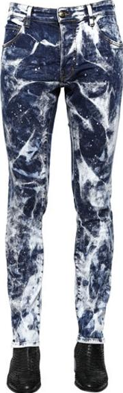 Lords & Fools , 16cm Bleached Stretch Denim Jeans