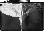 Marcelo Burlon County Of Milan , Printed Faux Leather Pouch