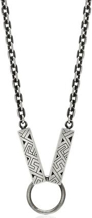 Northskull , Woto Tag Sterling Silver Necklace