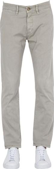 Unlimited , 16cm Stretch Cotton Twill Chino Pants