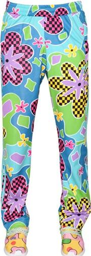 Adidas By Jeremy Scott , Floral Printed Jogging Pants