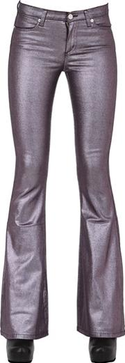 Alyx , Stretch Flared Coated Cotton Pants