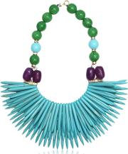 Katerina Psoma , Nuwa Fringed Beaded Necklace