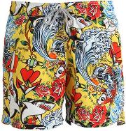 Mc2 Saint Barth , Hardysea Micro Fiber Swim Shorts