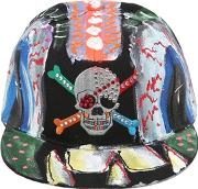 Patricia Field Art Fashion , Scooter Laforge Hand Painted Hat