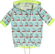 Venera Arapu , Water Resistant Snoopy Printed Raincoat