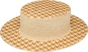 Alex , Straw Boater Hat