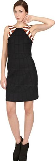 Asli Filinta , Sleeveless Wool Dress