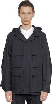 Christophe Lemaire , Water Repellent Cotton Field Jacket