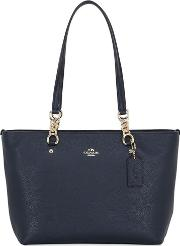 Coach Ny , Sophia Small Leather Tote Bag
