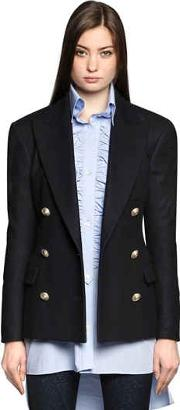 Faith Connexion , Double Breasted Wool Cloth Jacket