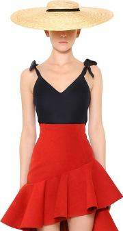 Jacquemus , Cool Wool Top W Bow Shoulders