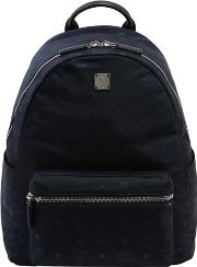 Mcm , Medium Dieter Nylon Backpack