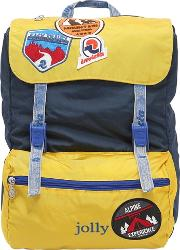 Invicta , Jolly Backpack W Patches