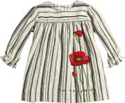 Pero , Embroidered Wool Flannel Dress