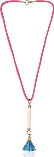 Paade , Cotton Necklace With Tassel