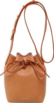 Mansur Gavriel , Mini Mini Leather Bucket Bag