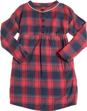 American Outfitters , Plaid Cotton Flannel Dress