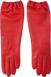 Aristide , Long Nappa Leather Gloves