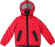 Ai Riders On The Storm , Quilted Micro Ripstop Puffer Jacket