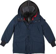 Ai Riders On The Storm , Water Resistant Nylon Puffer Coat